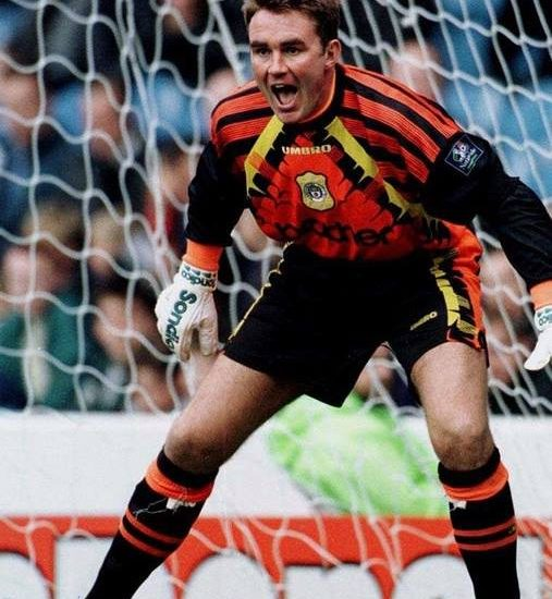 Andy Dibble former Manchester City & Glasgow Rangers goalkeeper