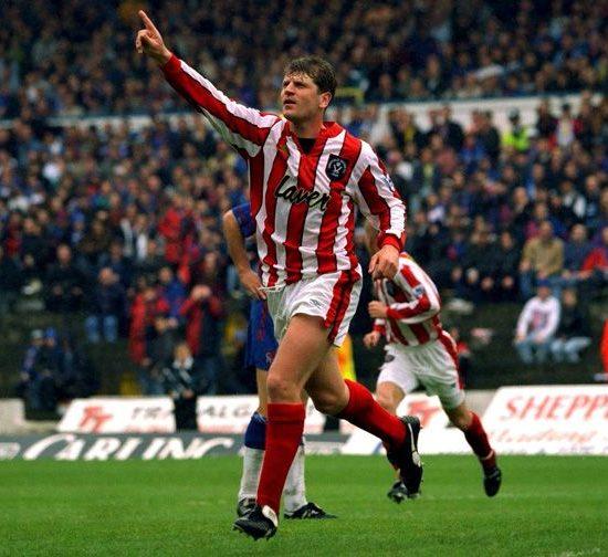 Glyn Hodges former Sheffield united midfielder