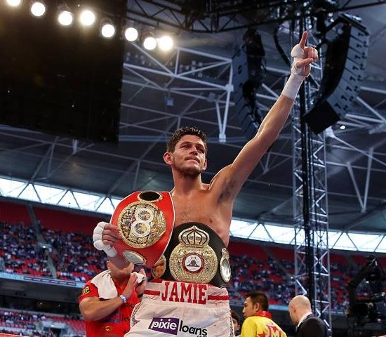 Jamie McDonnell Boxer and former WBA & IBF Champion