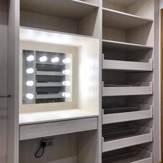 special bespoke wardrobe with mirror 2