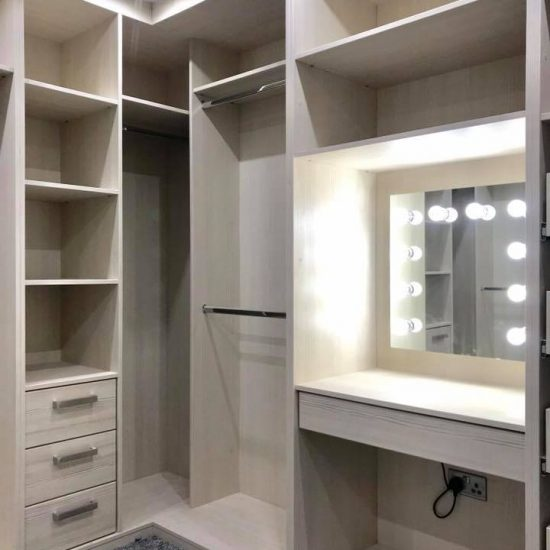 special bespoke wardrobe with mirror 3
