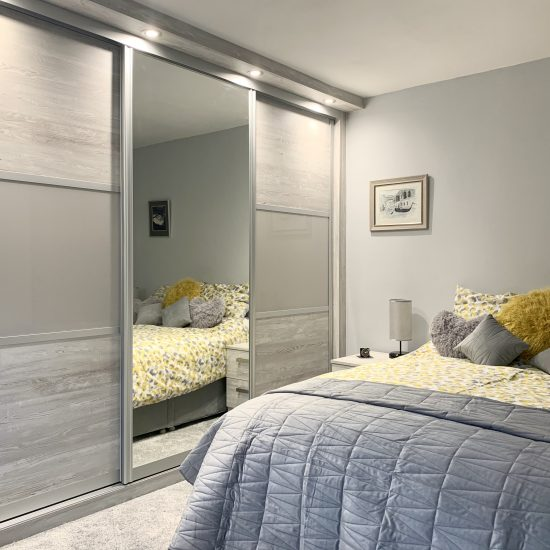 Cascina & Cashmere sliding wardrobes fitted in Wakefield by James Kilner fitted wardrobes & Bedrooms